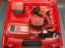 HILTI SID 22-A Cordless impact drill / driver, Battery, Charger, Case