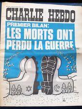 Q901. Charlie Hebdo. n° 152. 18/10/1973. Les morts ont perdu la guerre...