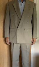 mario barutti Pure Wool Cream 2 Piece Suit