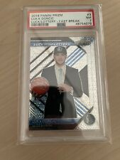 2018-2019 PSA 7 Prizm Luka Doncic Luck of the Lottery Fast Break Rookie RC #3