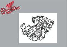 NEW GENUINE HONDA OEM LEFT CRANKCASE W/ GASKET 2009 CRF450R CRF450 CRF 450