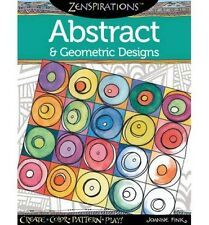 Zenspirations - Abstract & Geometric Designs Colouring Book Rrp16.50