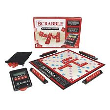 Scrabble Game (Electronic Scoring) , New, Free Shipping