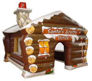 Inflatable Santas Grotto