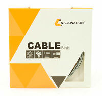 Ciclovation Advanced Bicycle Shifter Cable, Zinc, 1.2mm x 2100mm