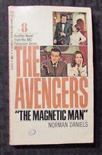 1968 AVENGERS TV Series #8 The Magnetic Man 1st Berkley Paperback VG-