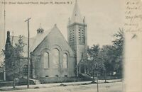 BAYONNE NJ – Fifth Street Reformed Church Bergen Point – udb – 1905