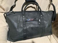 Leather Cabin Duffel Bag - Falls Canyon - GATORS- Full Grain Black Leather
