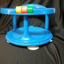 Vintage Safety 1st. Baby Bath Tub Seat.1989 Swivel Ring Suction Cups