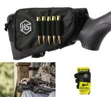 Ammo Cartridge Buttstock Rifle Shell Holder Deer Hunt Gun Storage Pouch Sleev