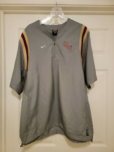 Vintage 90s Nike Florida State Seminoles Player Used Team Worn Jacket Sz L RARE