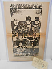 Original Poster SZ The Jimi Hendrix Experience Blue Cheer Concert Ad 1968