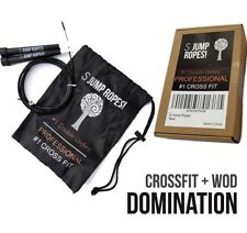 Crossfit Speed Cable Jump Rope Boxing Cardio Fitness Gym Training Double Under