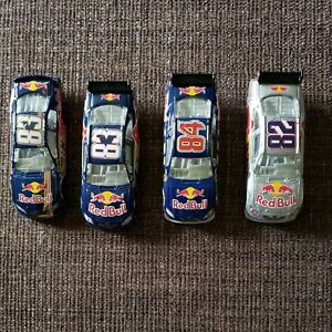 Red Bull 1/64 Vickers,Almendinger & Speed (Loose) 2007 & 2009 Lot of 4 cars