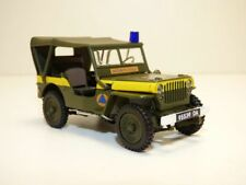JEEP WILLYS SECURITE CIVILE 1/43