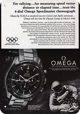 1968 OMEGA SPEEDMASTER Watch - Gemini - Apollo Moon Astronaut REPLICA METAL SIGN