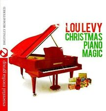 Christmas Piano Magic - Lou Levy (2013, CD NIEUW) CD-R