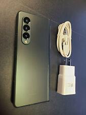 New Samsung Galaxy Z Fold3 Fold 3 5G 256GB Unlocked Green + More