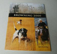 USED Browning 2000 Catalog