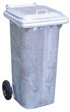 Mülltonne / Müllgroßbehälter Stahl / verzinkt 120 liter