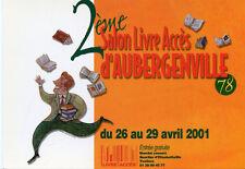2ème Salon Livre Accés d'AUBERGENVILLE Avril 2001 Illustration