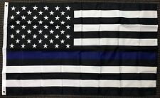 3x5 Thin Blue Line Police Lives Matter on American Flag USA US Outdoor Banner