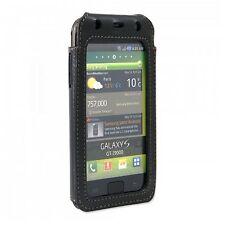 bugatti Ledertasche Tasche Hülle - TouchCover - für Samsung Galaxy S I9000