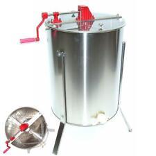 55571 Extracteur de miel manuel à quatre peignes en acier inoxydable miel d'apic