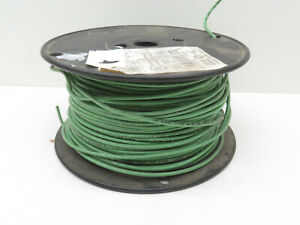 (300ft) 14AWG 19W Stranded Green THHN THWN MTW Copper Wire 600V #14, 19-Strand