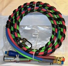 Commercial Truck & Trailer 3 In 1 Air & Abs Electrical Cable 12' - Mhd2026C