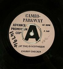 Chubby Checker (At The) Discotheque Northern Soul UK Cameo-Parkway DEMO