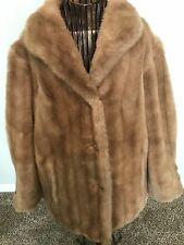 Vintage Women's Faux Fur Coat Mincara styled by Russel Taylor Immaculate