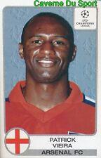 068 PATRICK VIERA FRANCE ARSENAL.FC STICKER PANINI CHAMPIONS LEAGUE 2001-2002