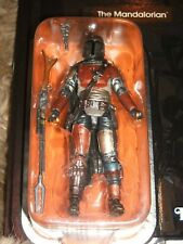 Star Wars Vintage Collection Carbonized Mandalorian Figure New Carded MOC