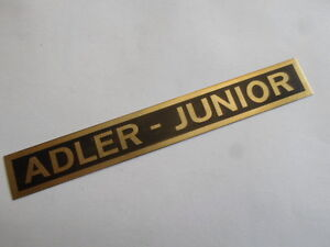 Nameplate Eagle Junior S20