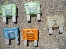 Fusible plano MAXI fusible flachstecksicherung 5 unidades 60a