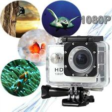 Pro Full HD 1080P 12MP Cam 30M Waterproof Sport Action Camera DV DVR White KJ