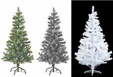 Artificial Árbol de Navidad Navidad Blanco Negro Verde