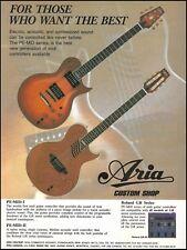 Aria Pro Custom Shop PE-MID-1 II Series guitar 1995 ad 8 x 11 advertisement
