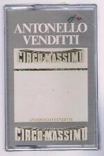 ANTONELLO VENDITTI CIRCO MASSIMO MC K7 MUSICASSETTA SIGILLATA!!!