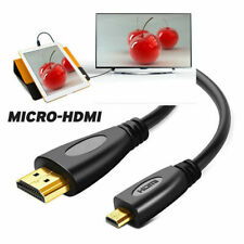 6FT Micro HDMI A/V HD TV Video Cable for Asus Tablet MeMO Pad Smart 10 ME301 T