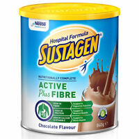 SUSTAGEN HOSPITAL FORMULA ACTIVE PLUS FIBRE CHOCOLATE POWDER 840G HIGH IN FIBRE
