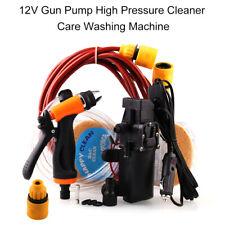 Companct 12V Jet Spray Car Wash Washer Gun High Pressure Electric Water Pump Kit