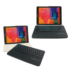 "Samsung Tab S2 9.7"" Leder Schutz Hülle Bluetooth Tastatur Befristete Promotion"