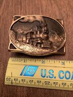 1977 Heritage Mint LTD Registered Collection Solid Brass American 440 BeltBuckle