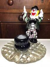 Vintage Murano Art Glass Clown Lamp Base