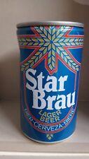 BIRRA STAR BRAU LAGER BEER, LATTINA DA COLLEZIONE VUOTA ANNI 60/70- MOLTO R@R@