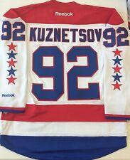 Reebok Premier NHL Jersey Washington Capitals Evgeny Kuznetsov White sz S