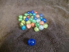 Lot of Vintage Marbles-Brilliant Colors