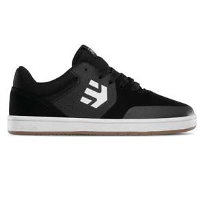 Etnies Kids Marana Black Gum White Youth Skateboard Shoes